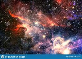 Nebulosas Una Nube Interestelar Del Polvo De Estrella Foto de ...