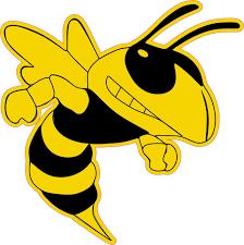 6in X 6in Right Facing Yellow Black Hornet Bee Masco Bumper Sticker Vinyl Window Decal Walmart Com Walmart Com