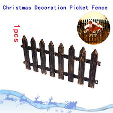 Lofow Decoractive Picket Fence Miniature Plastic Fencing Diy Garden Gates Decor Lazada Ph