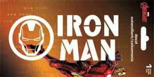 Window Decal Sticker Car 7141 6 X 2 5 Brand New Iron Man Logo