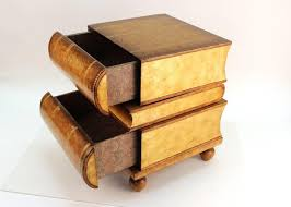 maitland smith stacked book side table