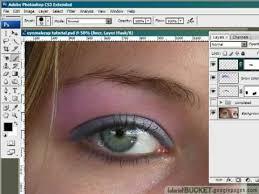 eye makeup photo retouching you