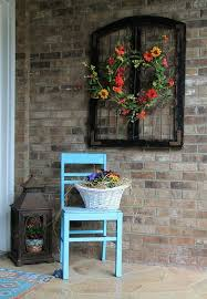 rustic outdoor wall decor