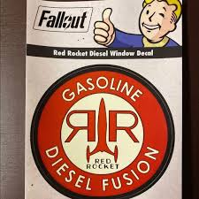 Other Fallout Window Decal Poshmark