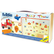 Jolly Town Transportation Car Truck Wall Decals Fun Rooms For Kids