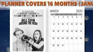 black sheep month diary planner un motivational