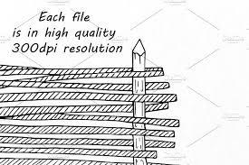 Doodle Fence Clipart Clip Art Doodles Web Design
