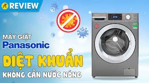 Máy giặt Panasonic Inverter 9 KG: diệt khuẩn không cần nước nóng  (NA-V90FX1LVT) • Điện máy XANH - YouTube