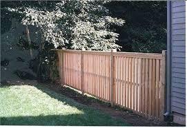 Cedar Semi Private Fence Board On Board Traditional Landscape Boston By Avo Fence Supply