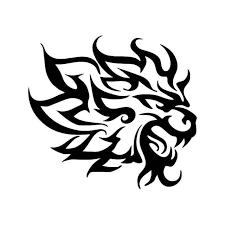 Tribal Lion Pride Animal Vinyl Sticker