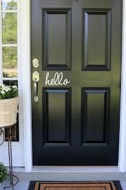 6 Hello Front Door Vinyl Decal Sticker Ebay Home Garden Vinyl Door Decal Front Door Decal Front Door