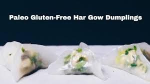 paleo gluten free har gow dumpling