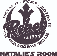Star Wars Rebel Logo Cartoon Character Customized Wall Decal Custom Vinyl Wall Art Personalized Name Baby Girls Boys Kids Bedroom Decal Room Wall Art Sticker Decoration Size 40x35 Inch