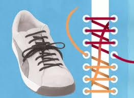 نتیجه تصویری برای اموزش بستن بند کفش