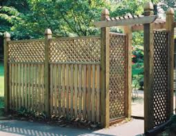 Using A Lattice To Enhance Your Fence Mid Atlantick Deck Fence