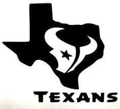 Houston Texans Bull Texas Logo Football Car Truck Vinyl Decal Sticker 12 Colors Ebay