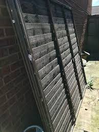 Schuttingpanelen 125x100mm 5x4 Inch Only Wall Band Fix Wooden Post To Wall Fencing Panel Fence Tuin En Terras Samsungupdated Com