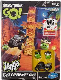 Amazon.com: Angry Birds GO! Exclusive Game Bombs Speed Kart: Toys ...