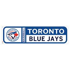 Toronto Blue Jays 90 X 23 Team Logo Repositionable Wall Decal