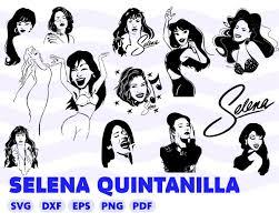 Details About Selena Vinyl Decal Sticker Car Window Art Music Fashion American Singer Actress Vozeli Com