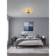 pentagram ceiling lamp bedroom kids h65