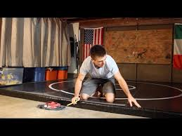 mma jiu jitsu and wrestling mat
