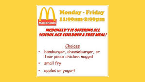 Is McDonald's Giving Free Lunches to ...