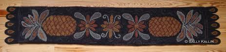 fruit rug hooking designs by sally kallin