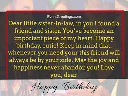 best birthday wishes and quotes for sister in law to express