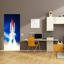 Space Shuttle Door Cover Space Kids Decor Outer Space Etsy
