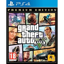 Grand Theft Auto V PREMIUM (PS4) - GTA 5 Five - New and Sealed ...