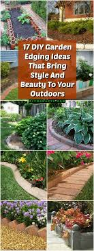 17 Diy Garden Edging Ideas That Bring Style And Beauty To Your Outdoors Diy Crafts