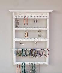 wall mount jewelry organizer earring