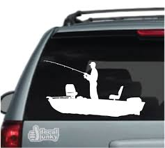 Boat Fishing Car Decals Stickers Decal Junky