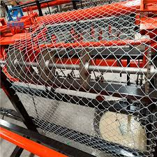 China Folding Edge Chain Link Fence Weaving Machine Photos Pictures Made In China Com