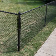 Yardgard 1 3 8 In X 1 3 8 In X 10 Ft Steel Top Fence Rail Cp13855106sbl The Home Depot