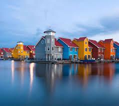 منازل ملونة الخلفية تحميل إلى هاتفك النقال من Phoneky