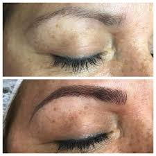 best microblading brows semi permanent