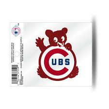 Chicago Cubs Wavy Logo Static Cling