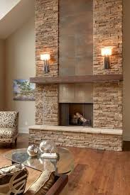 fireplace makeover barnwood in the
