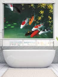 hks roller blind fish swimming
