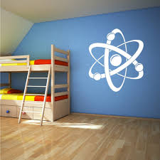 Atomic Diagram Wall Sticker For Kids Room Vinyl Wall Decals Bedroom Removable Art Decal Mural Waterproof Home Decoration Zb309 Sticker For Kids Room Wall Stickers For Kidswall Sticker Aliexpress