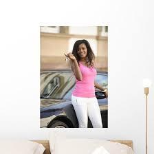 African American Woman Wall Decal Wallmonkeys Com