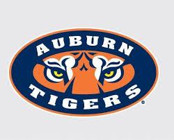 Amazon Com Auburn Tiger W Tiger Eyes Logo 4 Vinyl Decal Car Truck Auburn Sticker Everything Else