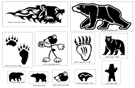 All The Bear Vinyl Decals By Bigblued Fur Affinity Dot Net