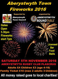 aberystwyth town fireworks whats on