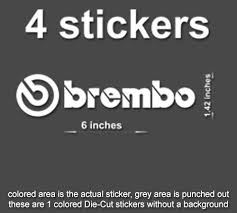 Brembo Brakes Calipers Decals Stickers Car Track Windows Laptop 60889 Stickerboy Skins For Protecting Your Mobile Device