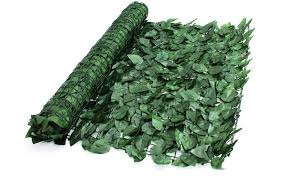 True Products S1011d Artificial Screening Ivy Leaf Hedge Panels On Roll Privacy Garden Fence 1m X 3m Green Amazon Co Uk Diy Tools