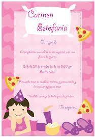 Invitacion Para Fiesta De Pijamas Fiestas De Ninas Fiesta De