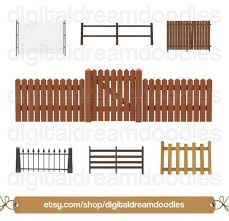 A Comprehensive Overview On Home Decoration In 2020 Picket Fence Chain Link Fence House Clipart